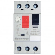 Автомат захисту двигуна ВА-2005 М03 0,25-0,40A АскоУкрем