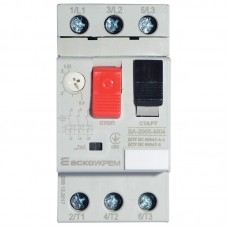 Автомат захисту двигуна ВА-2005 М04 0,40-0,63A АскоУкрем