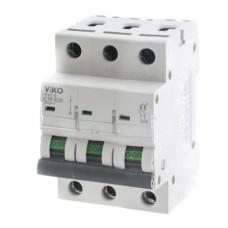 Автоматичний вимикач 4VTB-3C 16А 3п.  VIKO