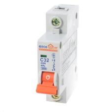 Автоматичний вимикач ECO 1р 32А EcoHome