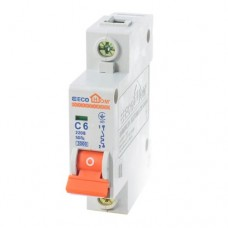 Автоматичний вимикач ECO 1р 6А EcoHome