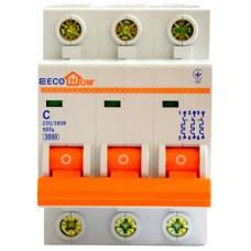 Автоматичний вимикач ECO 3р 32А EcoHome