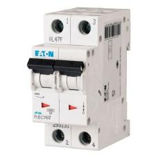 Автоматичний вимикач PL6-C16/2 16А 2п. Eaton