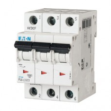 Автоматичний вимикач PL6-C32/3 32А 3п. Eaton