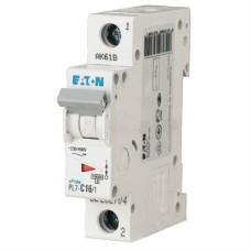 Автоматичний вимикач PL7-C16/1 16А 1п. Eaton