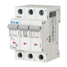 Автоматичний вимикач PL7-C1/3 1А 3п. Eaton