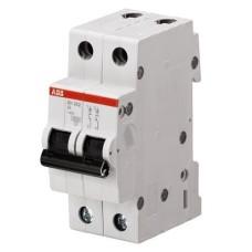 Автоматичний вимикач SН202-В20/2 20А 2п. ABB
