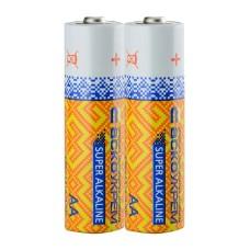 Батарейка лужна АА, LR6 1,5В (спайка 2 шт) АскоУкрем