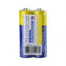 Батарейка сольова АА, R6 1,5В (спайка 2 шт) АскоУкрем