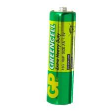 Батарейка сольова AA, R6 1,5В Greencell GP