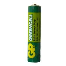 Батарейка сольова AAA, R03 1,5В Greencell GP
