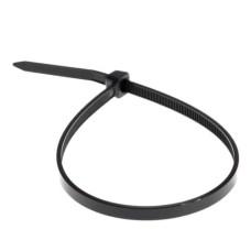Хомут кабельний 200х5 чорний UV (уп- 100шт)  АскоУкрем