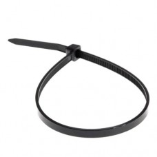 Хомут кабельний 400х5 UV чорний  (уп- 100шт)  АскоУкрем