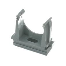 Кріплення для труб 25мм сірий (уп.-50шт)
