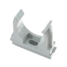 Кріплення для труб 32 мм сірий, (упаковка 25 шт)