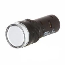Світлосигнальна арматура  AD16-16DS біла 24V АC/DC АскоУкрем