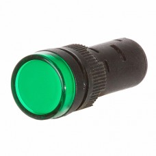 Світлосигнальна арматура AD16-16DS зелена 24V АC/DC АскоУкрем