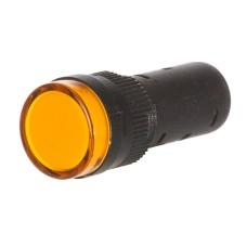 Світлосигнальна арматура  AD16-16DS жовта 24V АC/DC АскоУкрем