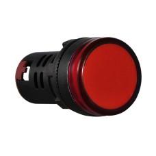 Світлосигнальна арматура AD22-22DS   червона110V АC АскоУкрем