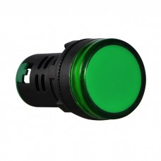 Світлосигнальна арматура AD22-22DS  зелена  220V DC АскоУкрем