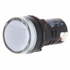 Світлосигнальна арматура AD22-22DS  біла 220V DC АскоУкрем
