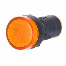 Світлосигнальна арматура AD22-22DS  жовта 220V АC АскоУкрем