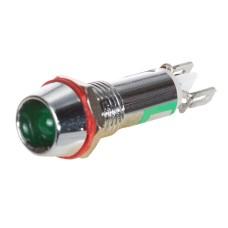 Світлосигнальна арматура AD22-C8 зелена 24V AC/DC АскоУкрем