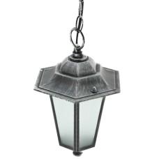 Світильник парковий  PALACE A05 60W чорне срібло DELUX