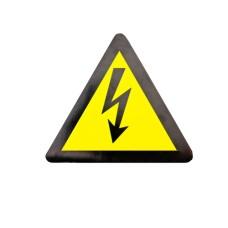 Знак Обережно! Електрична напруга d200