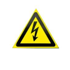 Знак Обережно! Електрична напруга d40