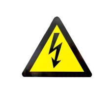 Знак Обережно! Електрична напруга d80