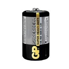 Батарейка сольова D, R20 1,5В Supercell GP