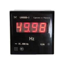 Частотомір цифровий ЦЧ0205-3  (35-99,9Гц)  (72х72х84мм) Краснодарский ЗИП