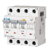 Диференційний автоматичний вимикач mRB6-10/3N/C/0.03-A 10А 30мА 3+Нп Eaton