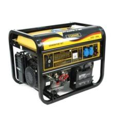 Електростанція FG8000E 6кВт, 1фаза 50Гц, бензин 0,55 л/кВт-год, бак 25л, ел.стартер або ручний старт FORTE