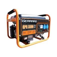 Електростанція GPG3500E 2,5кВт, 1фаза 50Гц, бензин 0,55 л/кВт-год, бак 15л, ел.стартер або ручний старт GERRARD