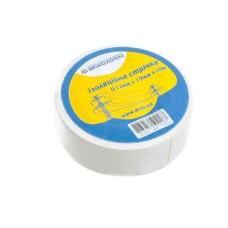 Ізоляційна стрічка 0,13мм*19мм*10м біла АскоУкрем (A0150020006)