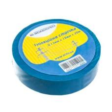 Ізоляційна стрічка 0,13мм*19мм*20м синя АскоУкрем (A0150020006)