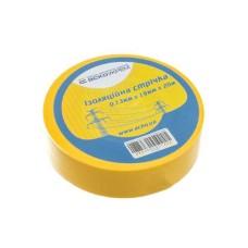 Ізоляційна стрічка 0,13мм*19мм*20м жовта АскоУкрем (A0150020006)