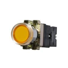 Кнопка XB2-BW3571 1NO жовта з підсвіткою АскоУкрем