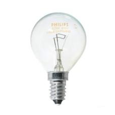 Лампа розжарення Р45 40Вт Е14 куля прозора PHILIPS