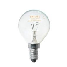 Лампа розжарення Р45 60Вт Е14 куля прозора PHILIPS