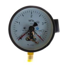 Манометр електроконтактний ДМ Сг 05160 4МПа 1,5 Склоприлад