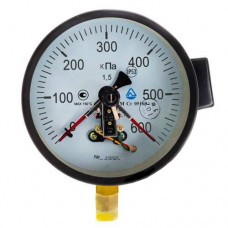 Манометр електроконтактний ДМ Сг 05160 600кПа 1,5 Склоприлад