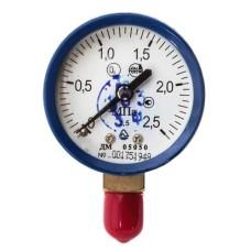 Манометр кисневий ДМ05050 2,5МПа-2,5 -О2 Склоприлад
