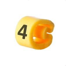 Маркування кабельне EC-1 з позначкою (4) 1,5...4 АскоУкрем