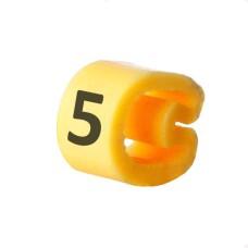 Маркування кабельне EC-3 з позначкою (5) 5,2...10 АскоУкрем