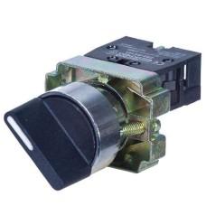 Перемикач XB2-BJ33 1NO+1NO 3-позиційний поворотний подовжена ручка АскоУкрем