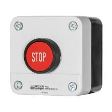 Пост керування XAL-B114 1NC 1-місний Стоп червона кнопка АскоУкрем