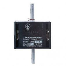 Трансформатор струму Т-0,66 100/5 кл.0,5S Мегомметр